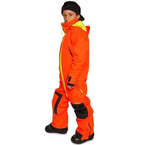 Комбинезон детский зимний Cool Zone Kids 17/18, оранжевый