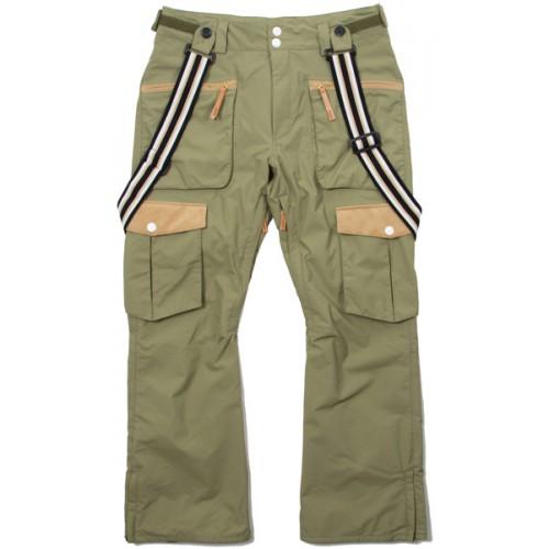 Штаны для сноуборда CLWR Brace Pant 14/15, loden