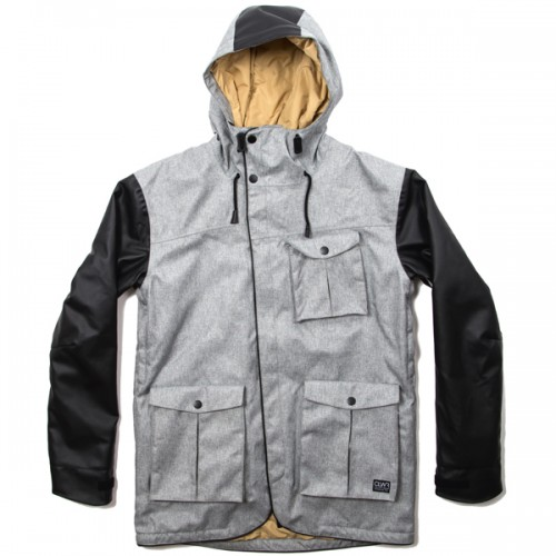 Куртка для сноуборда CLWR Mattsson Jacket 14/15, grey melange
