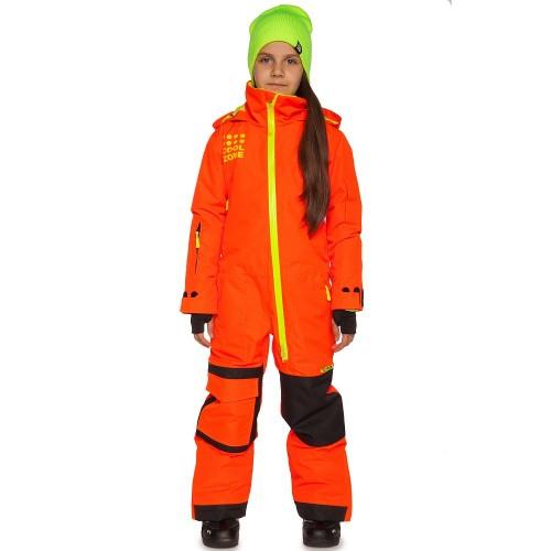 Комбинезон детский зимний Cool Zone Teens 17/18, оранжевый