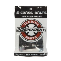 Independent Cross Bolts Phillips Hardware 1.5 Black