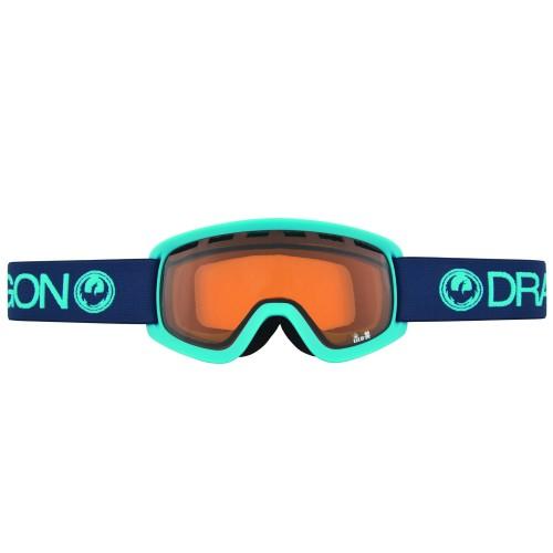 Маска для сноуборда детская Dragon LiL D Ultramarine Amber