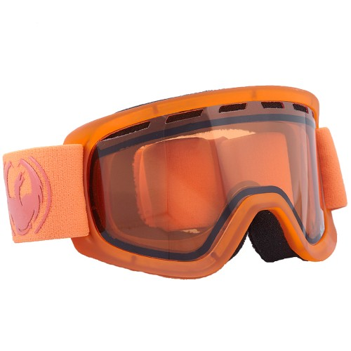 Маска для сноуборда детская Dragon LiL D Matte Tangerine Amber