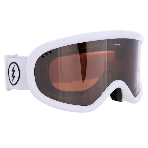 Маска для сноуборда и горных лыж Electric Charger XL Gloss White Brose