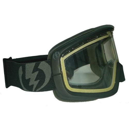 Маска для сноуборда Electric EGB2 Gloss Black Clear