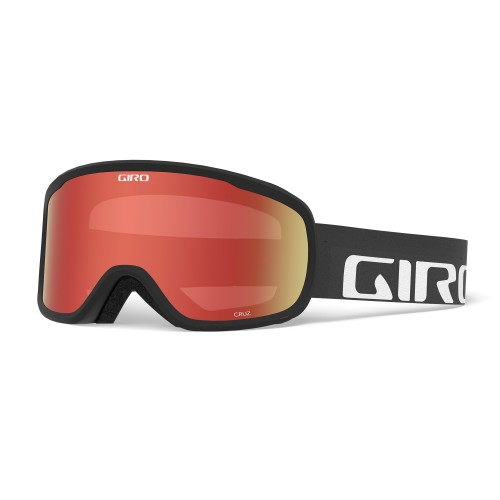Маска для сноуборда и лыж Giro Cruz Black Wordmark Amber Scarlet 18/19
