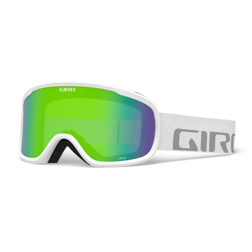 Маска для сноуборда и лыж Giro Cruz White Wordmark Loden Green 18/19