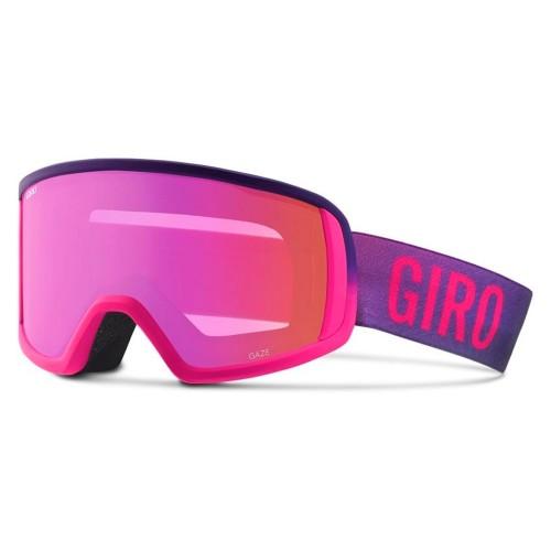 Маска для сноуборда и лыж женская Giro Gaze Bright Pink Faded Amber Pink 18/19