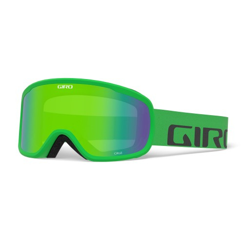 Маска для сноуборда и лыж Giro Cruz Bright Green Wordmark Loden Green 18/19
