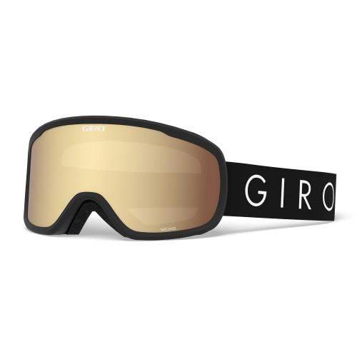 Маска для сноуборда и лыж женская Giro Moxie Black Core Light Amber Gold/Yellow 18/19
