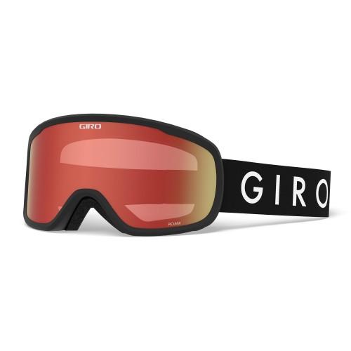 Маска для сноуборда и лыж Giro Roam Black Core Amber Scarlet/Yellow 18/19