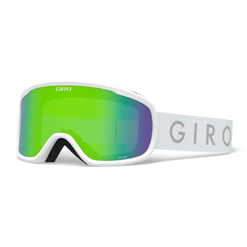 Маска для сноуборда и лыж Giro Roam White Core Loden Green/Yellow 18/19