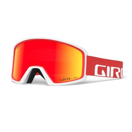 Маска для сноуборда и лыж Giro BLOK Apex Red/White/Vivid Ember