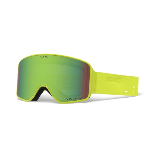 Маска для сноуборда и лыж Giro METHOD Silicon Citron/Vivid Emerald/Vivid Infrared