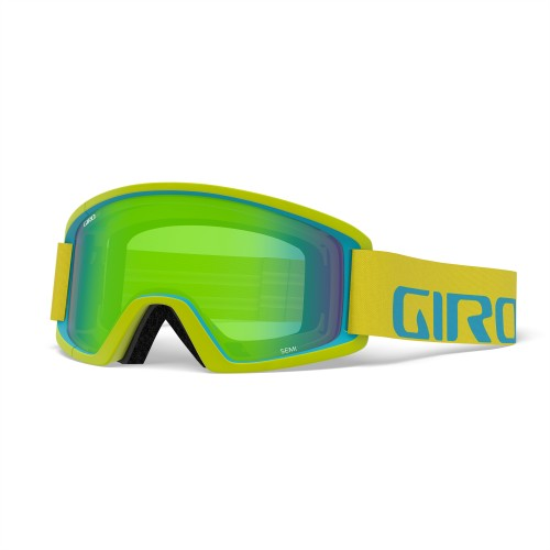 Маска для сноуборда и лыж Giro SEMI Citron/Iceberg Apex/Loden Green/Yellow