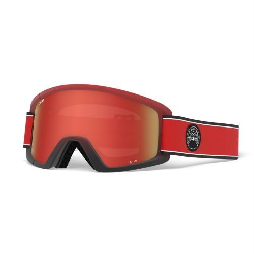 Маска для сноуборда и лыж Giro SEMI Red Element/Amber Scarlet/Yellow