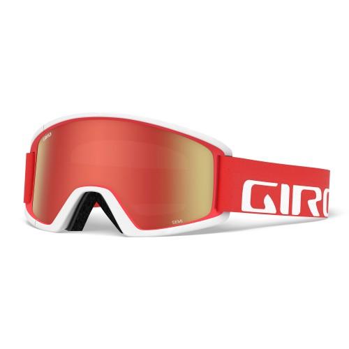 Маска для сноуборда и лыж Giro SEMI Apex Red/White/Amber Scarlet/Yellow