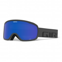 Giro ROAM Wordmark/Grey Cobalt/Yellow