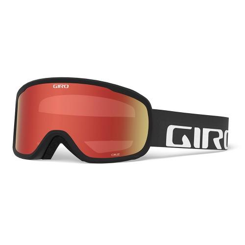 Маска для сноуборда и лыж Giro CRUZ Цвет Black Wordmark/ Amber Scarlet