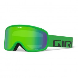 Giro CRUZ Bright Green Wordmark/ Loden Green
