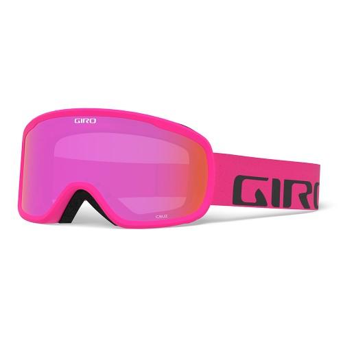 Маска для сноуборда и лыж Giro Cruz Bright Pink Wordmark/Amber Pink