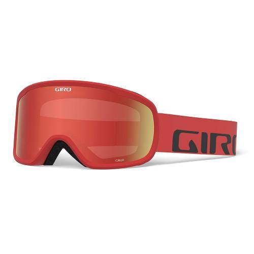 Маска для сноуборда и лыж Giro CRUZ Red Wordmark/ Amber Scarlet