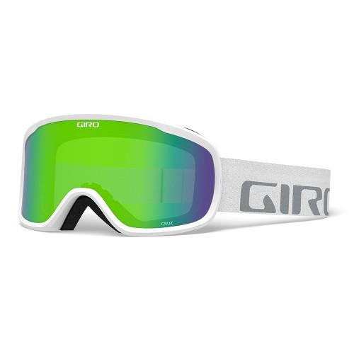 Маска для сноуборда и лыж Giro CRUZ White Wordmark/Loden Green