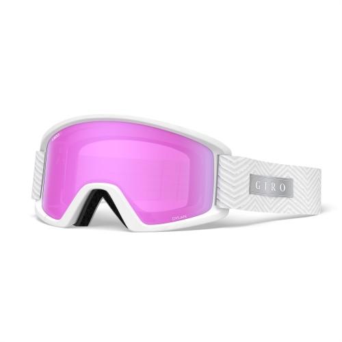 Маска для сноуборда и лыж Giro DYLAN White Zag/Amber Pink/Yellow