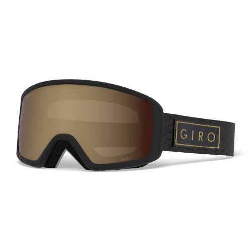 Маска для сноуборда и лыж Giro GAZE Black Gold Bar/Amber Rose