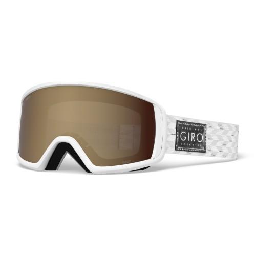 Маска для сноуборда и лыж Giro GAZE White/Silver Shimmer/Amber Rose