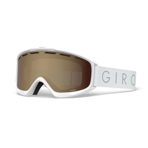 Маска для сноуборда и лыж Giro INDEX White Core Light/Amber Rose