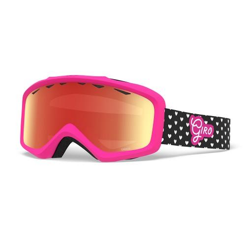 Маска для сноуборда и лыж Giro GRADE Hearts/Amber Rose