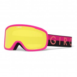 Giro MOXIE Black Pink Throwback/Ultra Black/Yellow