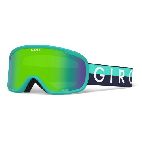 Маска для сноуборда и лыж Giro MOXIE Glacier Throwback/Loden Green/Yellow