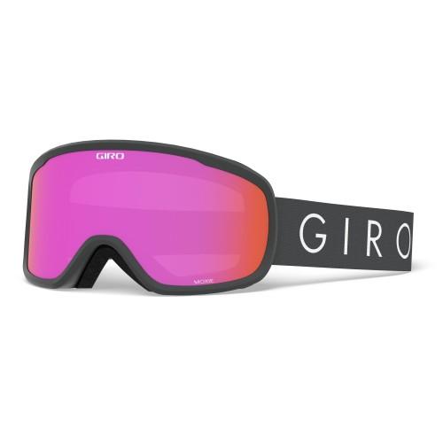 Маска для сноуборда и лыж Giro MOXIE Titanium Core Light/ Amber Pink /Yellow