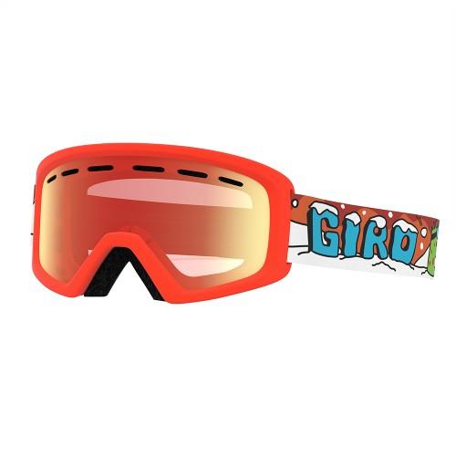Маска для сноуборда и лыж Giro REV Dinosnow/Amber Rose
