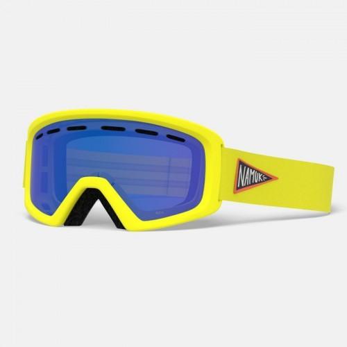 Маска для сноуборда и лыж Giro Rev Namuk Yellow Amber Rose
