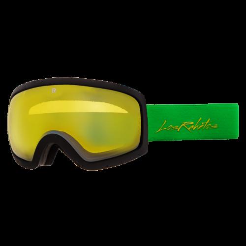 Маска для сноуборда и лыж Los Raketos Atis Yellow Black 16/17