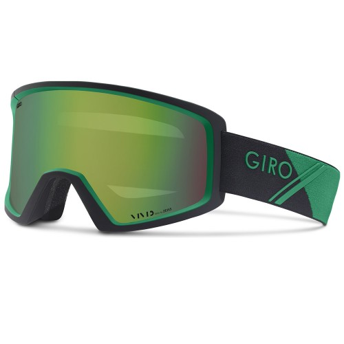Маска для сноуборда и лыж Giro Blok Field Green Sport Tech Vivid Emerald 17/18