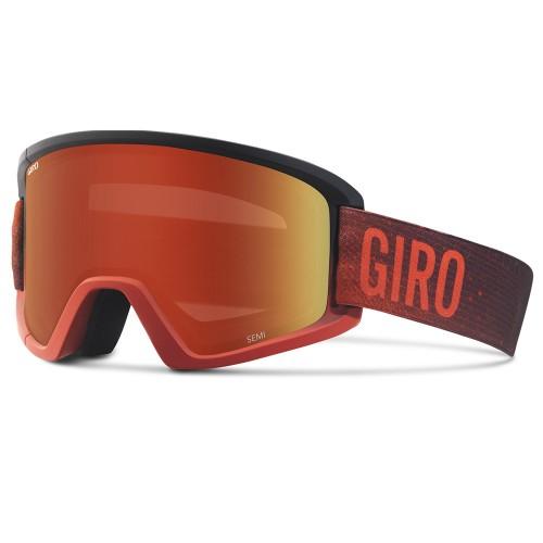 Маска для сноуборда и лыж Giro Semi Red Faded Amber Scarlet/Yellow 17/18