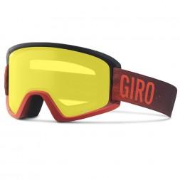 Giro Semi Red Faded Amber Scarlet/Yellow 17/18
