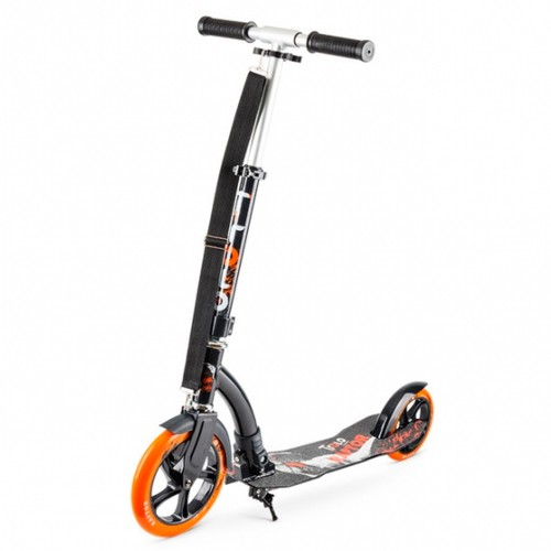 Самокат Trolo Raptor orange/graphite