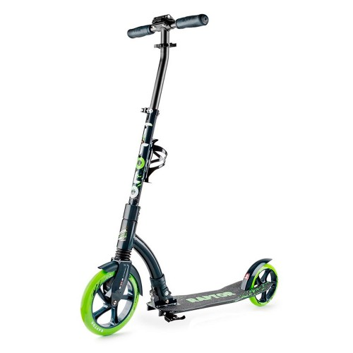 Самокат Trolo Raptor white/green