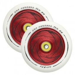 Комплект колес для самоката Fuzion 110 mm Wheel Marker/White Red Core White