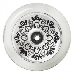 Колеса для самоката Fuzion 110 mm Wheel (pair) - Silver Core / Clear PU