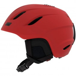 Giro Nine Matte Dark Red 18/19