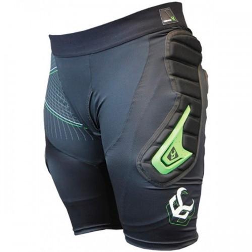 Защитные шорты для сноуборда Demon Flex-Force X Short D30 Black 16/17