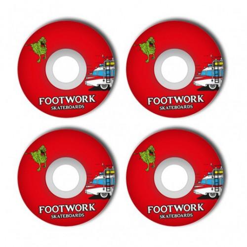 Комплект колес для скейта Footwork Skatebusters 52 mm 98A