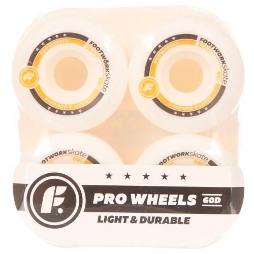 Колеса для скейта Footwork LX White 52 mm 60D