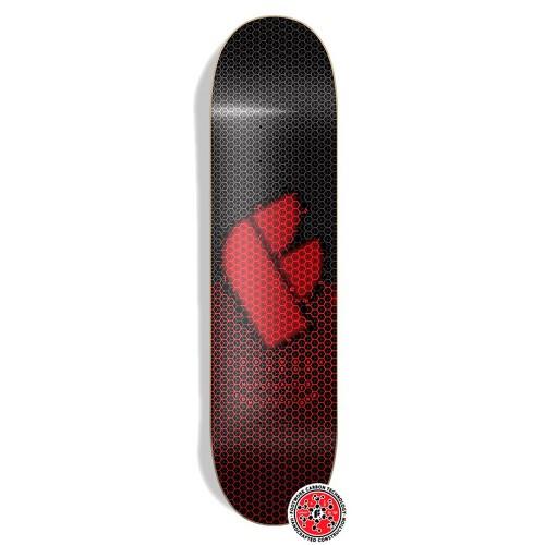 Дека для скейтборда Footwork Carbon Formula Red 8 x 31.5 (УЦЕНКА)